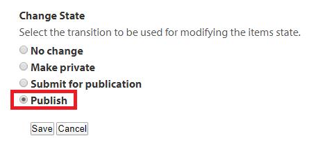 Google Docs Publish