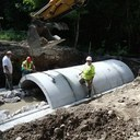 Downeast Lakes Land Trust touts new culvert design aimed at restoring trout habitats (video)