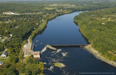 Removal of Veazie Dam Begins on Maine's Penobscot River