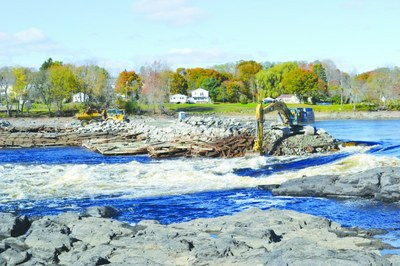 Penobscot River Restoration Reaching Final Stages with Veazie Dam Removal