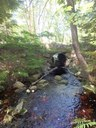Poorly designed stream crossing