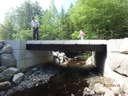 Replacement stream crossing