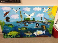Join us for the Sea-run Fish and their Ecosystems Art Exhibit