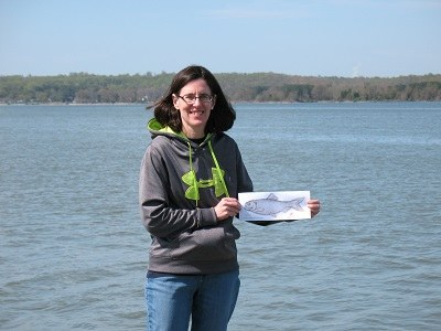 Alewife makes it to Patuxent River, Prince Frederick, MD with Wende Mahaney