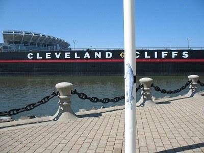Lake sturgeon, Cleveland Cliffs Laker and Lake Erie