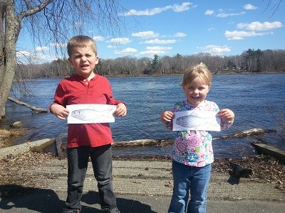 Mabel and Mitchell Hawkes and the Penobscot