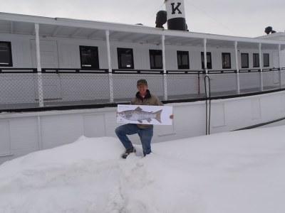 Mark at Moosehead Lake 1
