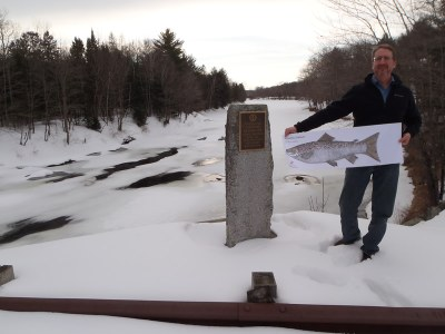 Tom at the Piscataquis River 2