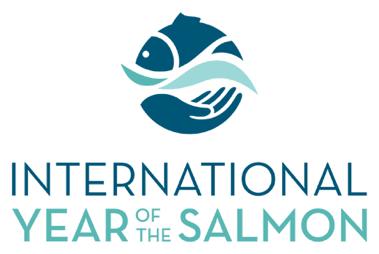 International Year of the Salmon logo.