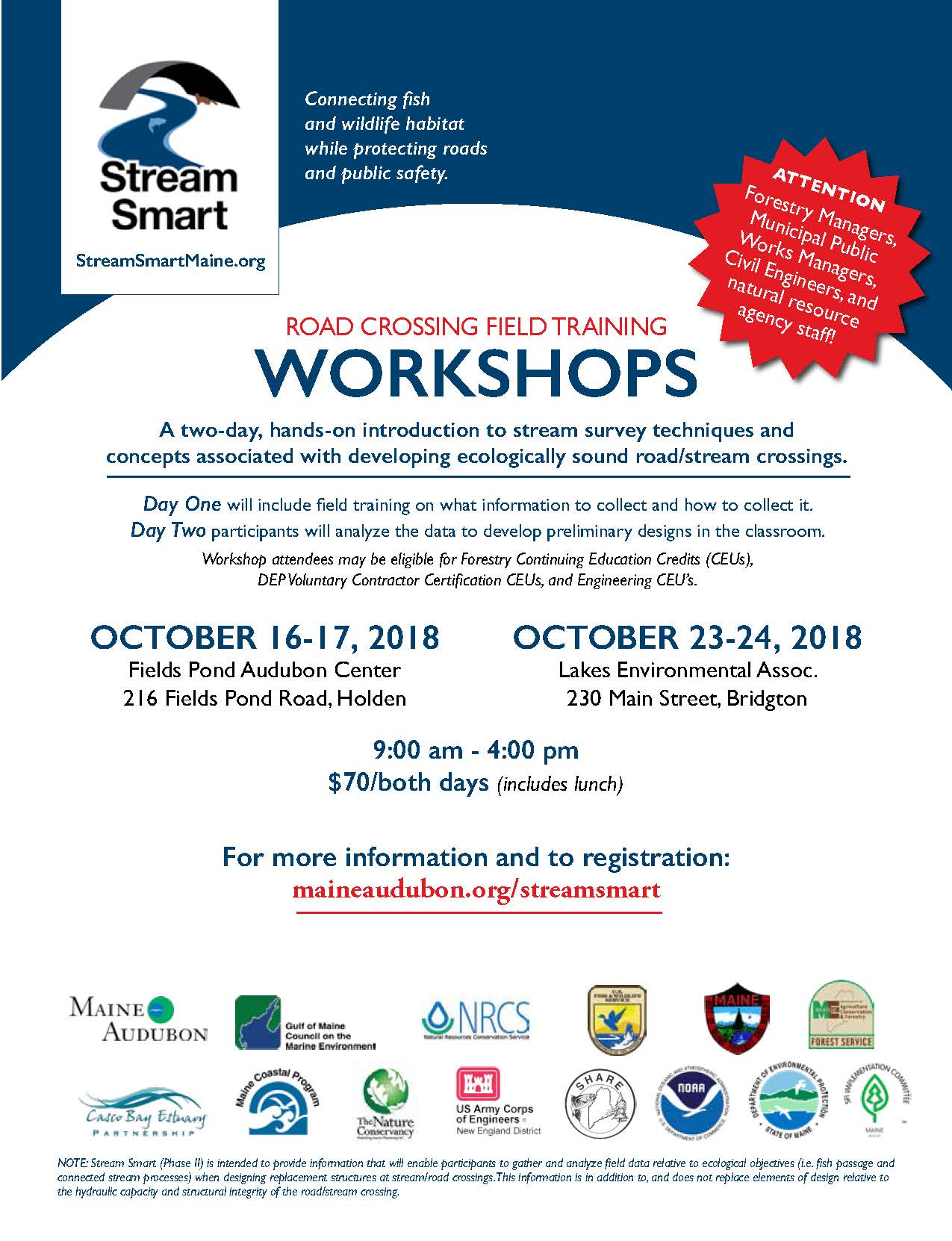 Stream Smart Workshop Flyer