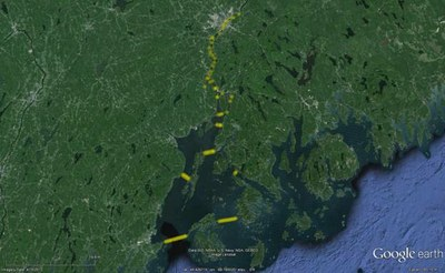 Animated Visualizations of Atlantic Salmon Smolt Behavior Aid in Recovery Research