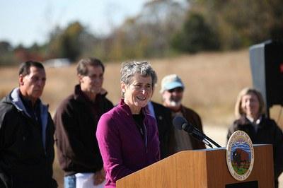 Interior Secretary Announces Hurricane Sandy Coastal Resiliency Competitive Grant Program