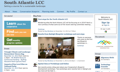 South Atlantic LCC Newsletter