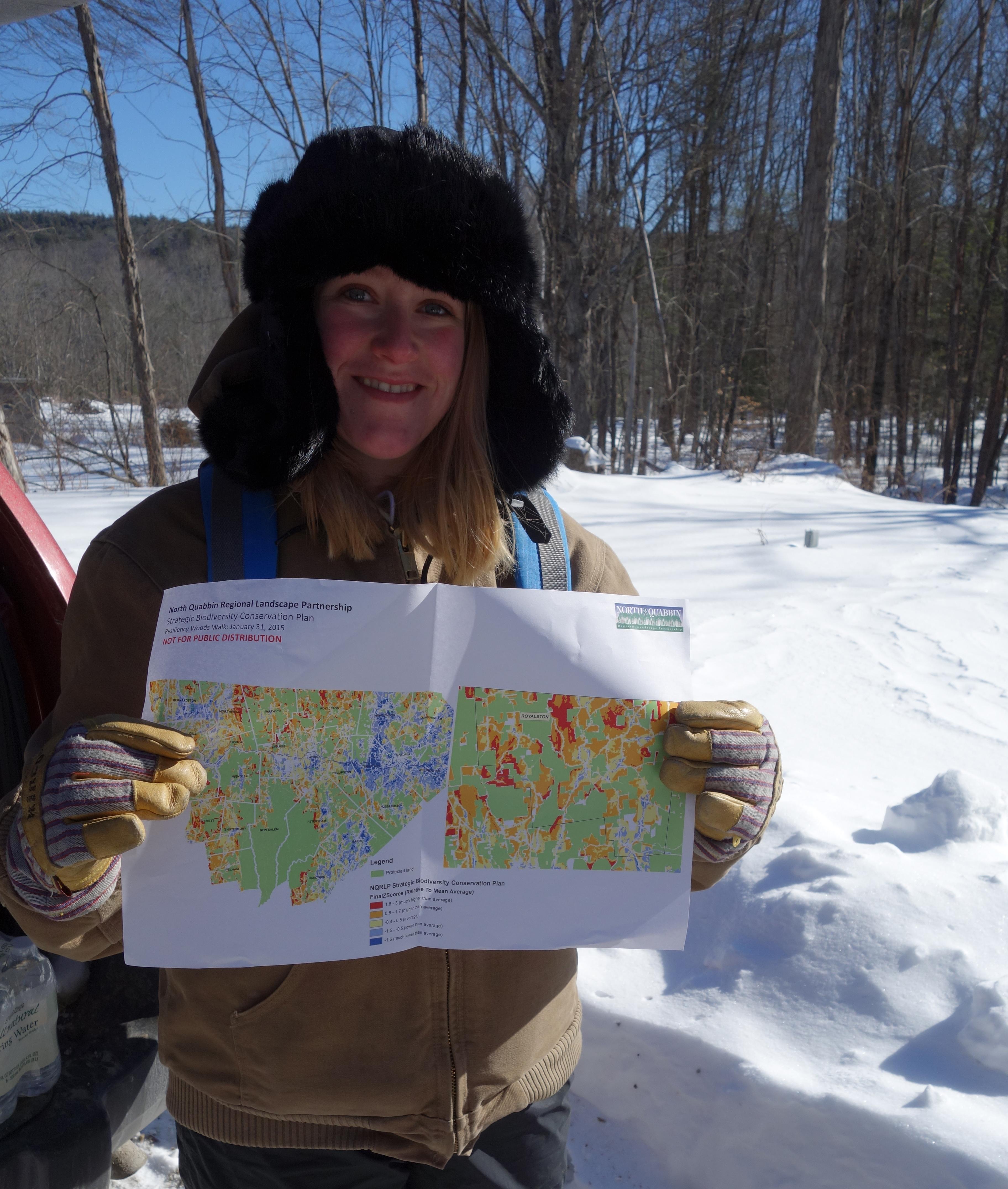 Information Management and Communication: North Quabbin map