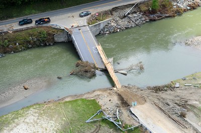 Projects and Products: Collapsed bridge