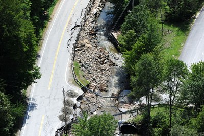 Extra: VT road damage from Irene