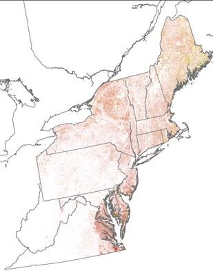 Landscape Capability for American Black Duck, Breeding, Version 2.0, Northeast