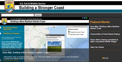 USFWS Hurricane Sandy (external)
