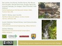 Presentation on Forecasting Changes in Aquatic Systems and Brook Trout - Integrating Stream Science Meeting 3-14-2013