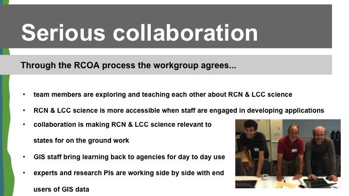 RCOA Serious Collaboration