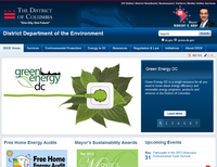 District of Columbia Department of the Environment