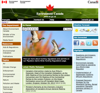 Environment Canada - Canadian Wildlife Service